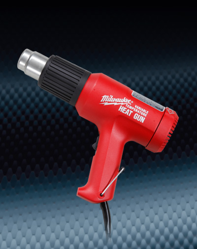 Pro Finish Accessories Milwaukee Heat Gun Variable Temperature Made In The USA automotive car wash and detailing supplies