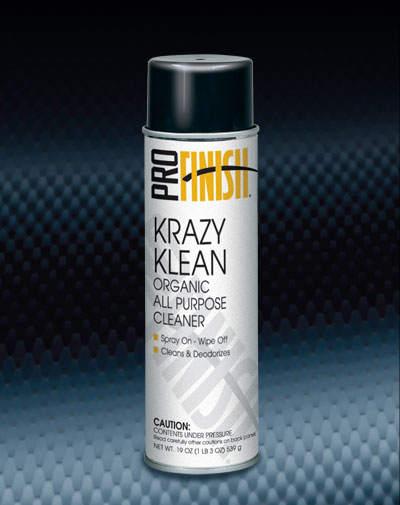 Pro Finish AEROSOL CLEANERS Krazy Klean Organic All Purpose Cleaner automotive car wash and detailing supplies