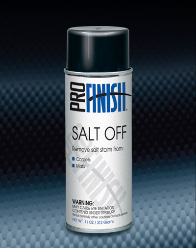 Pro Finish AEROSOL CLEANERS Salt Off Salt Stains Remover automotive car wash and detailing supplies