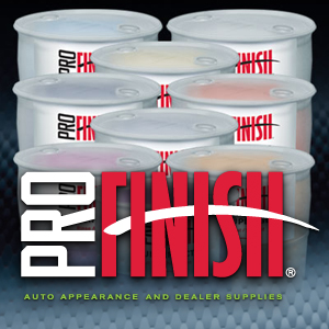 Pro Finish logo graphic