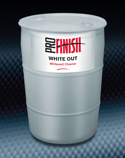 Pro Finish AUTOMATIC CAR WASH White Out Whitewall Cleaner automotive wash and detailing supplies