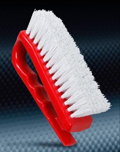 Pro Finish BRUSHES Nylon Iron Brush Medium Bristle Made In The USA automotive car wash and detailing supplies