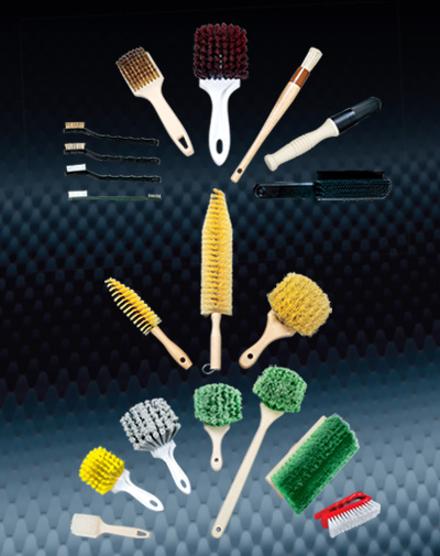 automotive wash and detailing Detail Brushes category image button