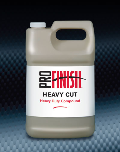 Pro Finish BODY SHOP BUFFING COMPOUNDS Heavy Cut Heavy Duty Compound automotive car wash and detailing supplies