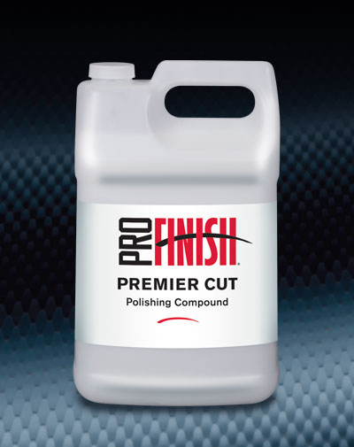 Pro Finish BODY SHOP BUFFING COMPOUNDS Premier Cut Polishing Compound automotive car wash and detailing supplies