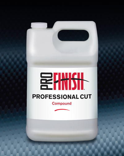 Pro Finish BODY SHOP BUFFING COMPOUNDS Professional Cut Paint Leveling Compound automotive car wash and detailing supplies