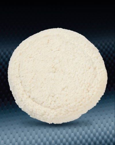 Pro Finish Buffing Pads & Buffers White Wool Buffing Pad Cutting for Buffing Equipment Made In The USA automotive car wash and detailing supplies