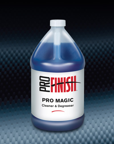Pro Finish BODY SHOP SUPPLIES CLEANERS & DEGREASERS Pro Magic automotive car wash and detailing supplies