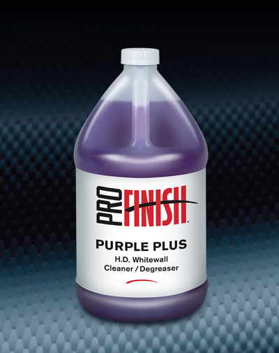 Pro Finish BODY SHOP SUPPLIES CLEANERS & DEGREASERS Purple Plus automotive car wash and detailing supplies