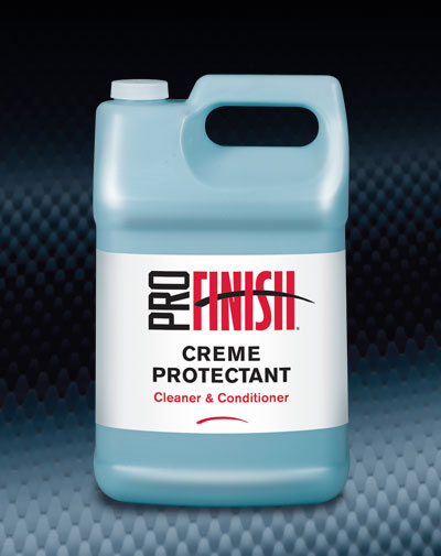 Pro Finish DRESSINGS Creme Protectant Cleaner & Conditioner automotive car wash and detailing supplies