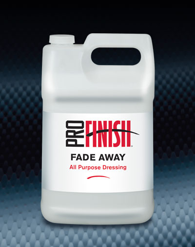 Pro Finish BODY SHOP DRESSINGS Fade Away XLII Vinyl and Rubber Dressing automotive car wash and detailing supplies