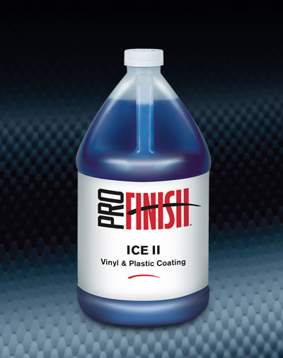 Pro Finish DRESSINGS Ice II Vinyl & Plastic Coating automotive car wash and detailing supplies