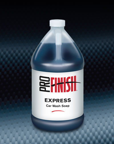 Pro Finish BODY SHOP SUPPLIES LIQUID SOAPS Express Car Wash Soap automotive car wash and detailing supplies