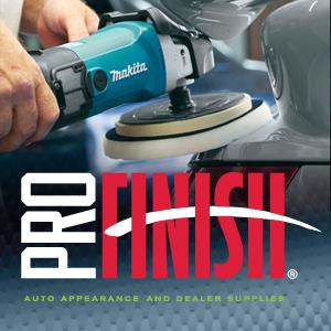 Pro Finish logo graphic