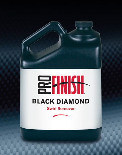 Pro Finish BODY SHOP POLISHES New & Improved Black Diamond Swirl Remover automotive car wash and detailing supplies