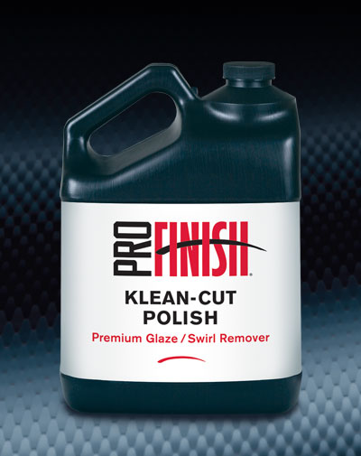 Pro Finish BODY SHOP POLISHES Klean-Cut Polish Premiun Glaze / Swirl Remover automotive car wash and detailing supplies