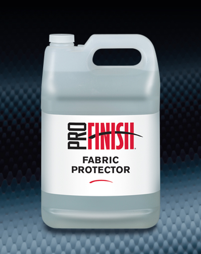 Pro Finish SPECIALTY PRODUCTS Fabric Protector Protective Barrier automotive car wash and detailing supplies