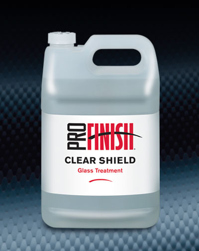 Pro Finish SPECIALTY PRODUCTS Clear Shield Glass Treatment automotive car wash and detailing supplies