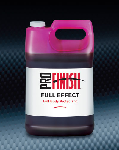 Pro Finish SPECIALTY PRODUCTS Full Effect Full Body Protectant automotive car wash and detailing supplies