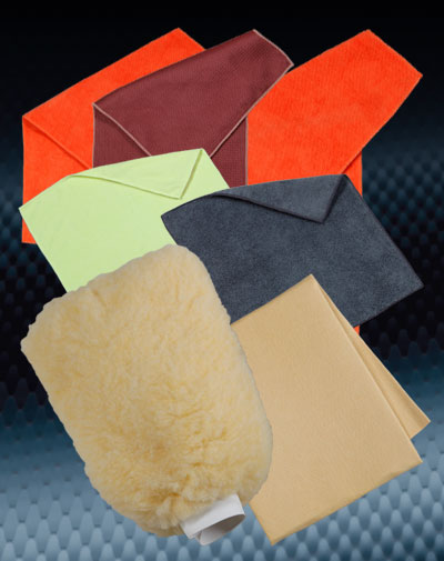 automotive wash and detailing Wash Mitts, Chamois & Microfiber Towels category image button